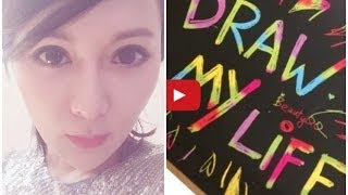 [♛Queenie Chan]✎Draw My Life ♥DOLL MY LIFE by ♛畫出我的前半生(Cantonese Version)