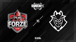 G2 Esports vs. forZe - Kafe - Rainbow Six Pro League - Season XI - EU
