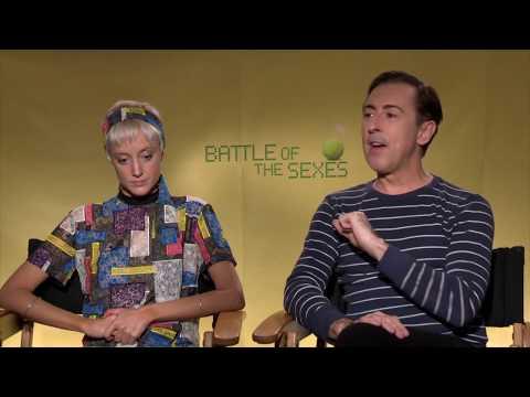 Andrea Riseborough & Alan Cumming: BATTLE OF THE SEXES