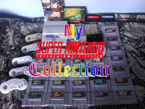 My Super NES Collection