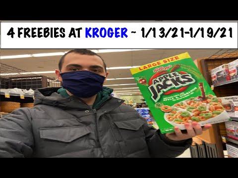 4 FREEBIES AT KROGER! ~ 1/13/21-1/19/21