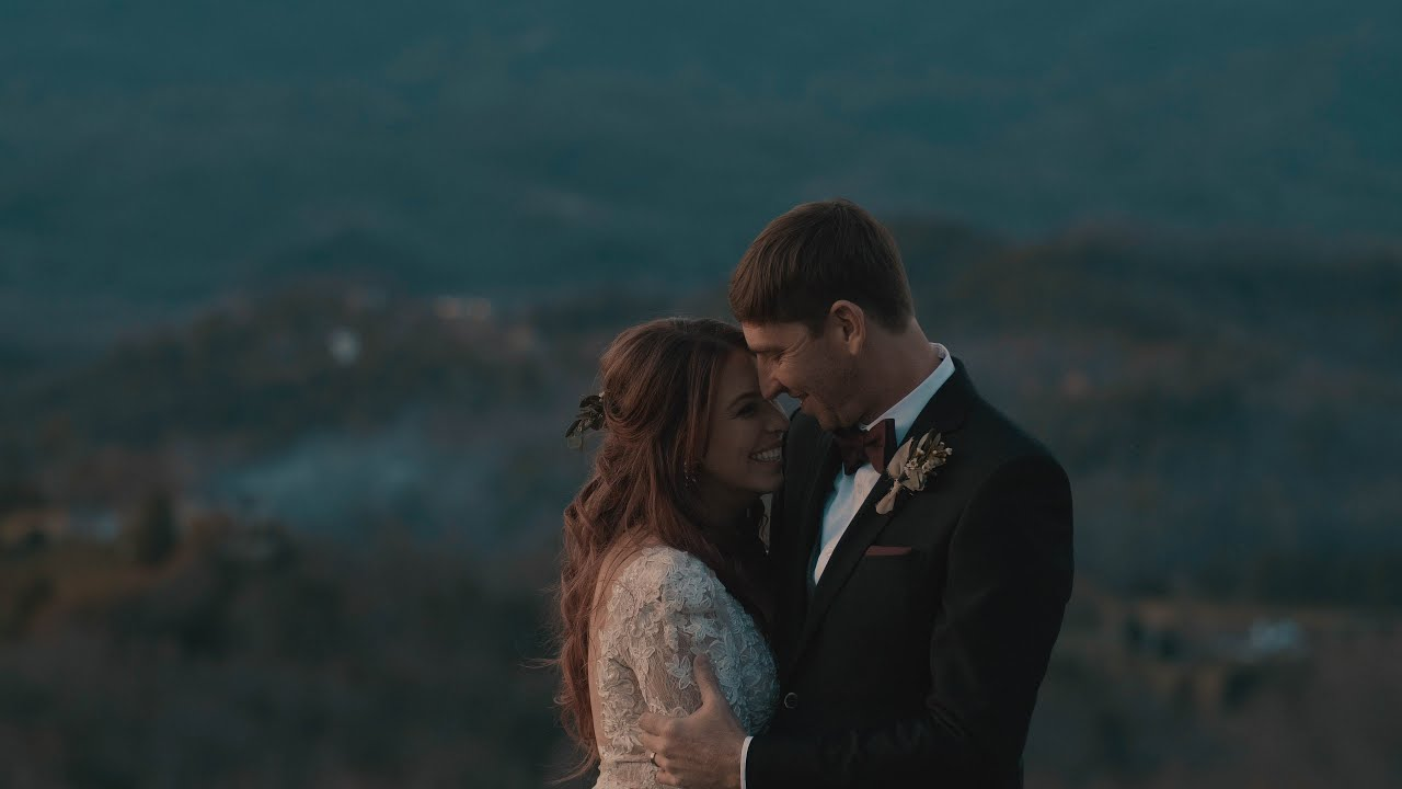 Wild and Free Mountain Couple   Hawkesdene - Andrews, NC Smokey Mountain Wedding Video