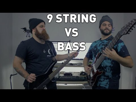 Download Youtube: 9 String Guitar VS Bass Guitar - Andrew Baena