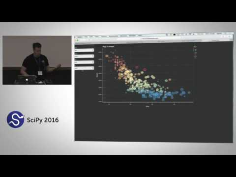 Bokeh for Data Applications and Visualization Intermediate | SciPy 2016 Tutorial | Bryan Van de Ven