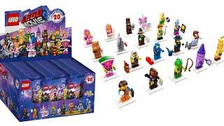 Opening Saszetek Minifigures The Lego Movie 2!