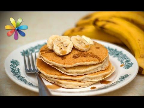 Рецепт Завтрак за 5 минут банановые блины без муки и сахара  Все буде добре. Выпуск 783 от 30.03.16