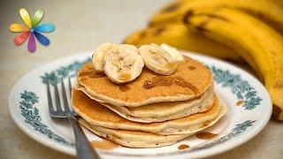 Завтрак за 5 минут: банановые блины без муки и сахара – Все буде добре. Выпуск 783 от 30.03.16
