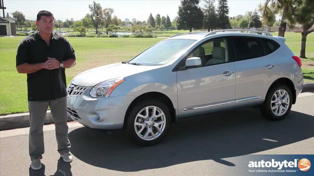 2012 nissan rogue test drive crossover suv video review. Black Bedroom Furniture Sets. Home Design Ideas