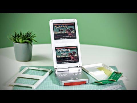 Dual Screen GameBoy Advance SP Kit