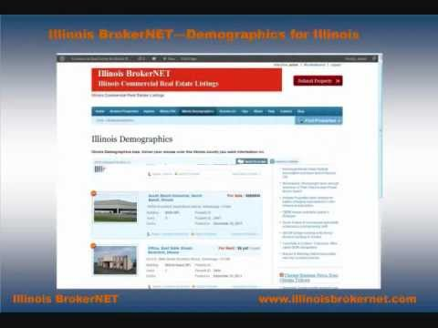 Illinois BrokerNET, Free Commercial Real Estate Listings for Illinois