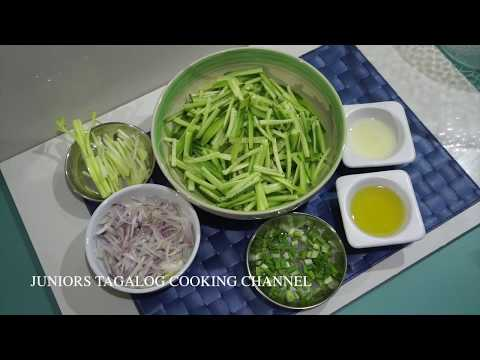 🇵🇭 Cucumber Lime Salad - Pinoy Tagalog Filipino Recipes