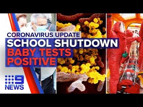Coronavirus: Sydney school shutdown, baby tests positive | Nine News Australia
