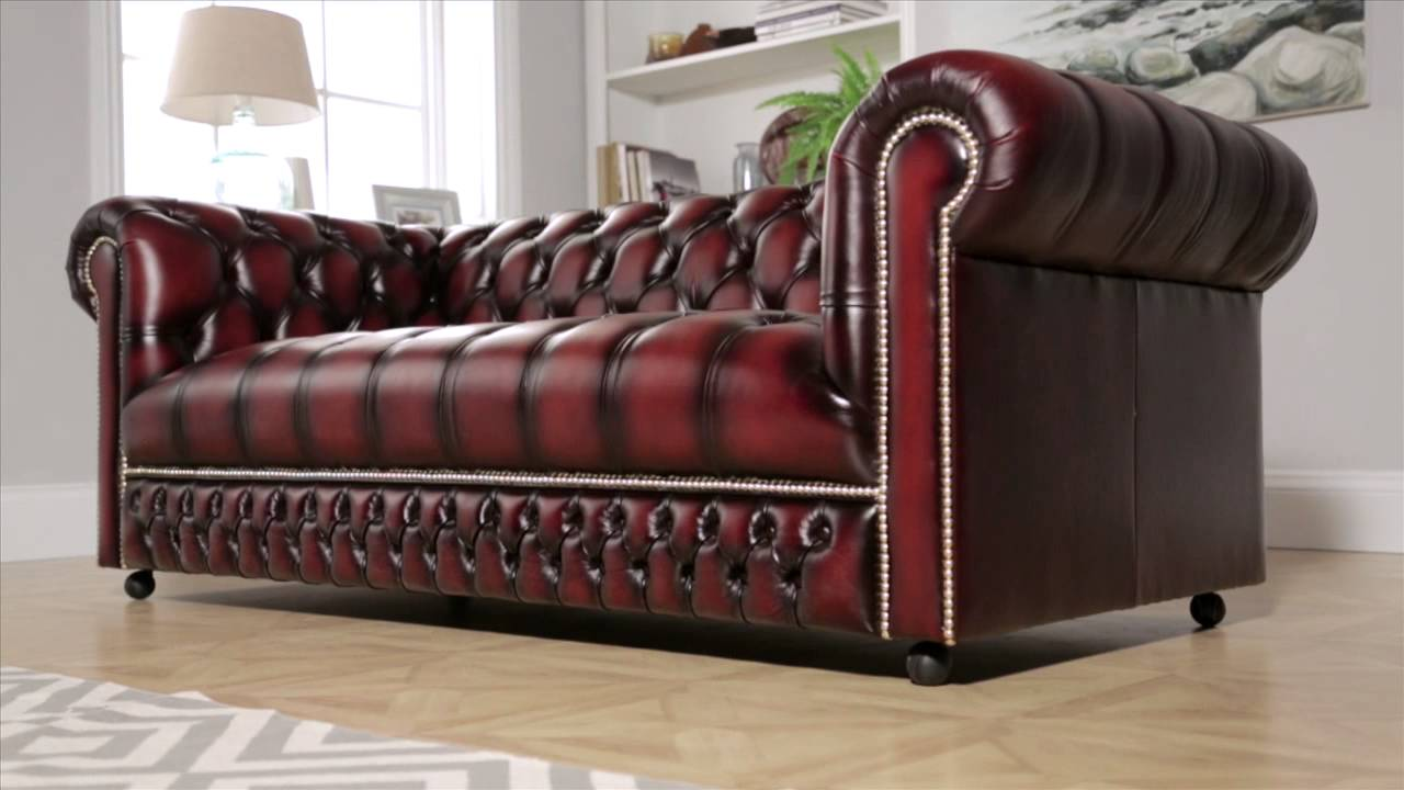 stanhope chesterfield sofa from sofas by saxon youtube. Black Bedroom Furniture Sets. Home Design Ideas