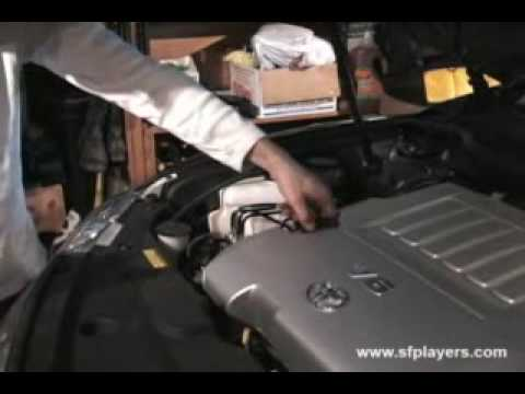 DIY: 2007 Toyota Camry V6 Oil U0026 Filter Change   YouTube