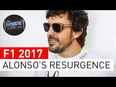 F1 NEWS 2017 - FERNANDO ALONSO: JOURNEYMAN WORLD CHAMPION [THE INSIDE LINE TV SHOW]