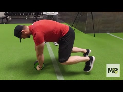 How to Use an Ab Wheel- Bear Crawl Core Exercise (Ab Roller Video 3 of 3)