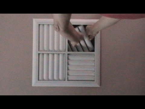 How to open Air-Con vents the easy way