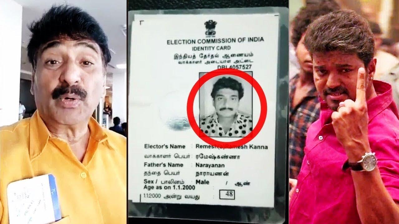 Image result for ramesh kanna vote
