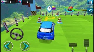 Impossible Ramp Car Park and Drive - Stunts Car Parking Games - Android GamePlay