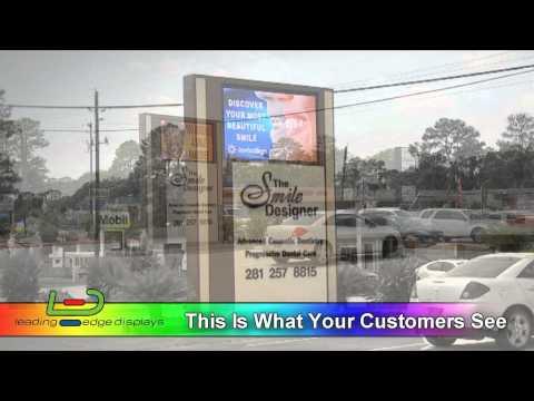 Smile Designer SMD 5mm Outdoor LED Sign -...