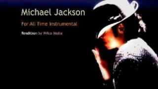 Michael Jackson - For All Time Instrumental by Wilco Matla