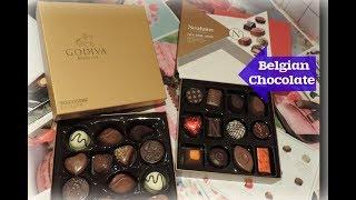 Обзор  бельгийского шоколада. Review of Belgian Chocolate