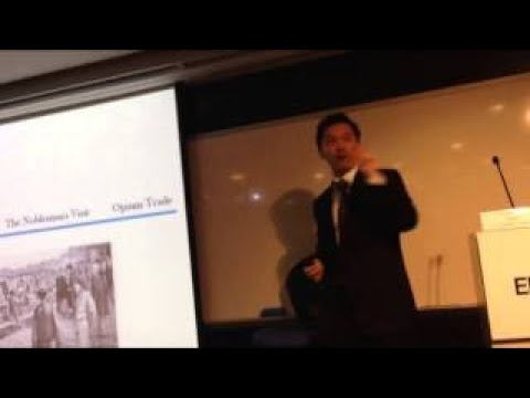 GU YOU on Chinese History (Qing Dynasty): The First Opium War [delivered at CUHK EMBA] (1/