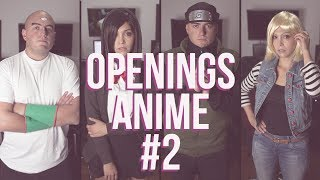 Mix Openings Anime #2 [ESP/ENG] Covers!
