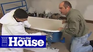 How to Refinish a Claw-Foot Tub