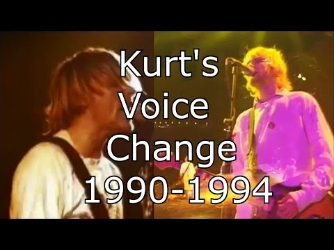 Nirvana - Lithium - Kurt's Voice Change 1990-1994 (Live Mix)
