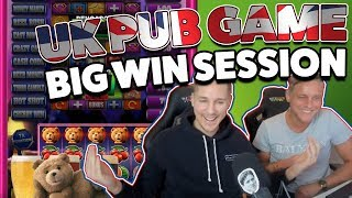 Ted Pub Fruit Slot Session - UK Pub game - BIG WINS on NEW game from Blueprint