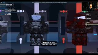 I'm part of a space warclan. Yeah. | Roblox: The Nighthawk Imperium