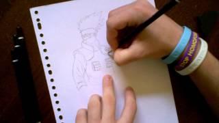 Speed Drawing : Kakashi