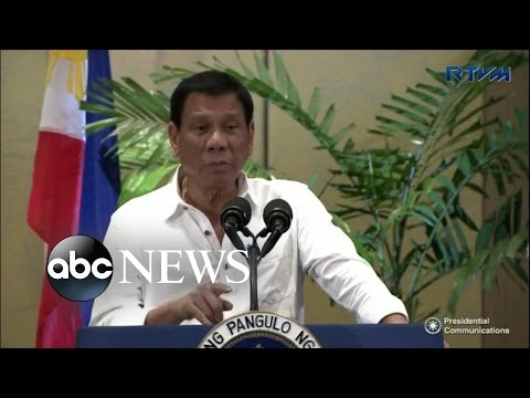Philippine President to Obama: 'Go to Hell'