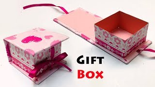 Are you searching for gift box ideas?? here is an awesome idea you.. today hacks land will teach how to make a paper with lid. as g...