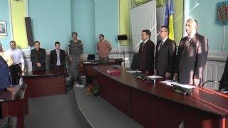 Ceremonia de investire a prefectului Romer Ambrus si subprefectului Mihai Mohaci