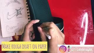 SMF DIY: How to Make Custom Gemini Nike Slides