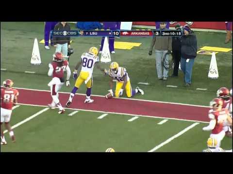 11/23/2012 LSU vs Arkansas Football Highlights