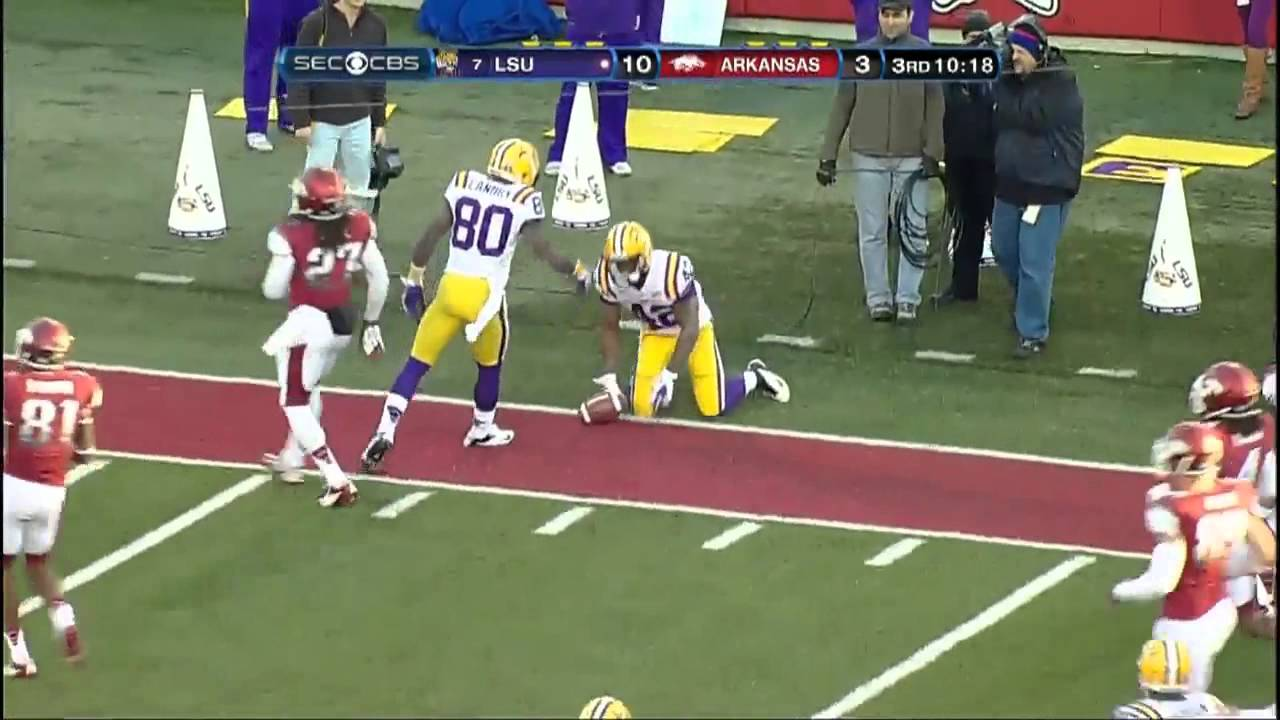 LSU Vs Arkansas Football Highlights YouTube