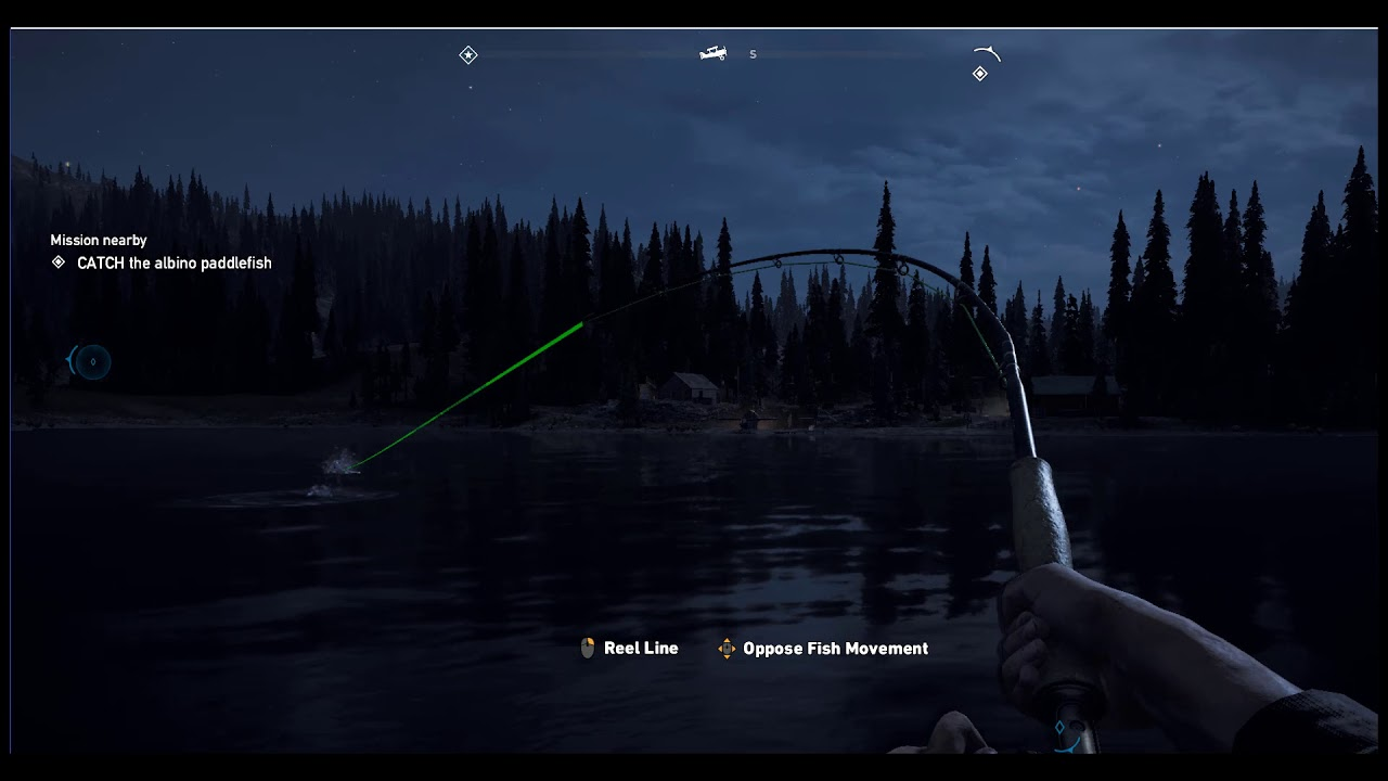 how to fish far cry 5