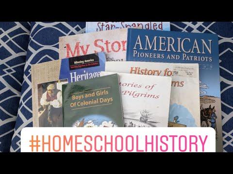 Homeschool History Curriculum Comparisons