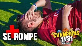 CHAMPIONS 1vs1 JORNADA 3 ¡Retos de Fútbol! [Crazy Crew]