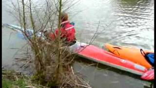 K1 Kayak Training - 13th March 2009