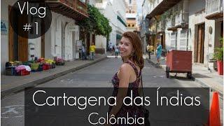 Cartagena das Índias - Vlog #1: Cidade amuralhada e Getsemani | Amanda Brasil
