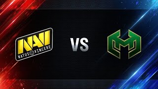 Natus Vincere vs Carpe Diem - day 4 week 1 Season I Gold Series WGL RU 2016/17