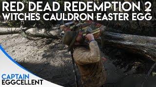 Red Dead Redemption 2 - STRANGE Witches Cauldron Easter Egg
