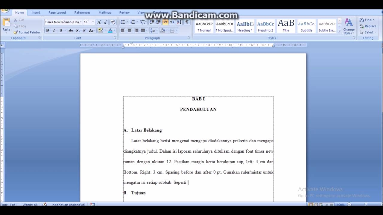 Teknik Penulisan Laporan Prakerin Tkj Smk Yadika Youtube