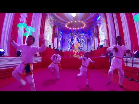Gajanana Song || Bajirao Mastani || Vision Arts || Gajanana Dance Performance by Students
