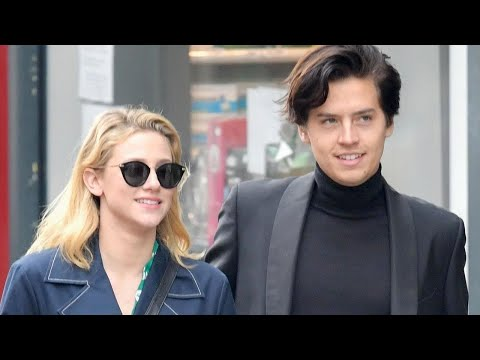 'Riverdale' Stars Lili Reinhart and Cole Sprouse Share a Kiss in Paris