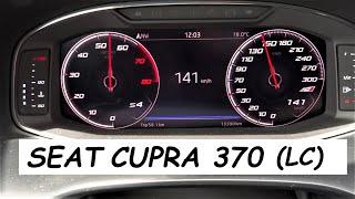 SEAT Leon ST Cupra (R) 370 Carbon (2019) Acceleration TEST 0-100km/h Launch Control